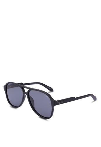 Quay Australia black MAGNETIC Sunglasses 4F6D7GLD171D38GS_1