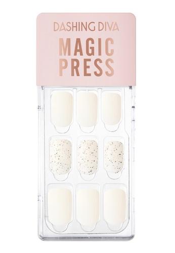 Dashing Diva white Dashing Diva 1 SEC. MAGIC PRESS Manicure Cream Sand / Press on Nails /Nail Tips CC86FBEA69DCB6GS_1