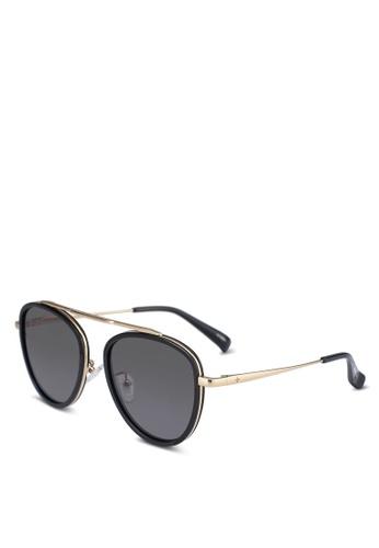 BLANC & ECLARE black Stockholm Sunglasses 7ECEEGL41EEDE0GS_1