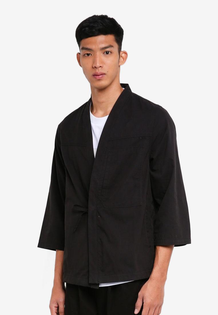 Kimono 2 Alpha Jacket Black Style 0 Yoshiro Zqwd6Z