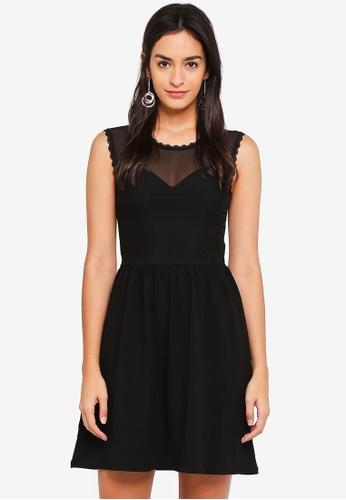 ONLY black Niella Mesh Dress 2FD9BAAA2FCA2AGS_1