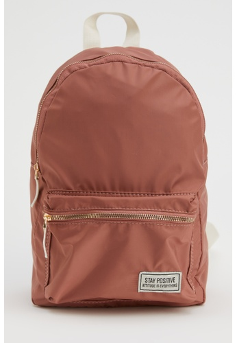 DeFacto pink Woman Backpack Bag AB843AC3A3F201GS_1