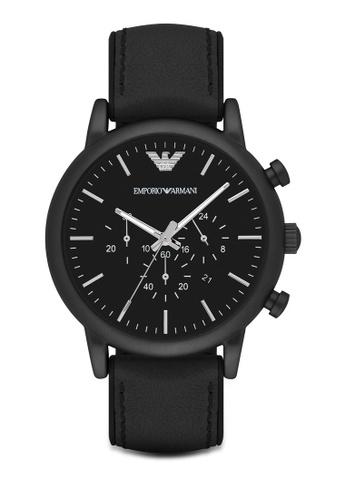 Emporio Armani black Emporio Armani Watch AR1970 EM212AC12AZJMY_1