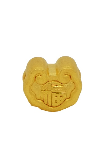 LITZ gold [SPECIAL] LITZ 999 (24K) Gold Fortune Lock Charm 4A1DBACB7EF56BGS_1