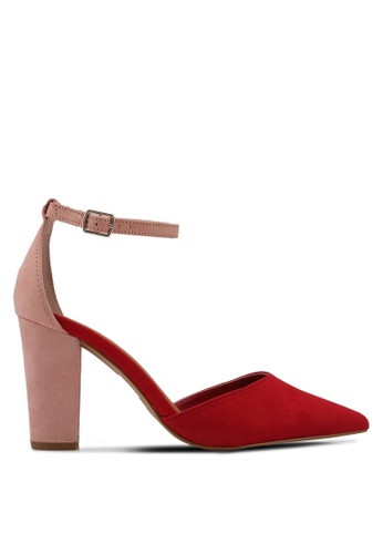 Rubi red and pink San Lucas Heels 0F1CBSH14F9487GS_1