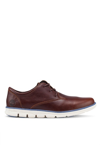 Timberland brown Bradstreet Oxford Ortholite Shoes 527A6SH080A768GS_1