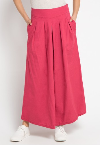 Exit multi Plain Maxi Skirt 52C5FAA09E5D66GS_1