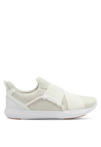 Under Armour white UA W Precision X Shoes UN337SH0SU9ZMY_1