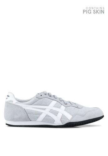 Onitsuka Tiger grey and white Serrano Shoes 37260SH858BE61GS_1