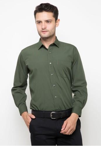 RICCIMAN green Ricciman Regular Fit Lengan Panjang Green E3802AA98766FFGS_1
