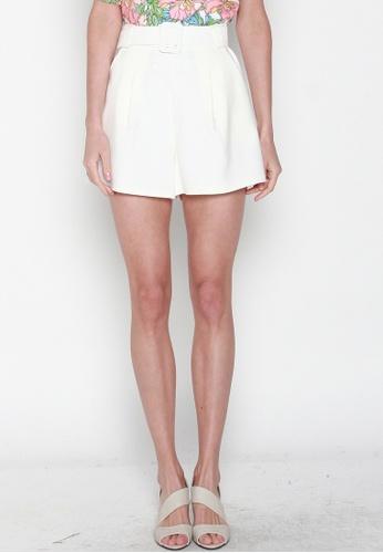 JOVET white High Waist Shorts 06A55AA5C338E9GS_1