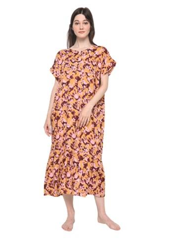 Pajamalovers multi Britanny122060 Long Dress E9B09AA21E27FBGS_1