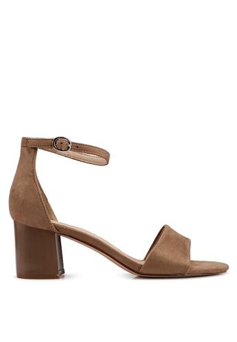 BETSY beige Aubree Sandal Heels 0F342SH5EEC624GS_1