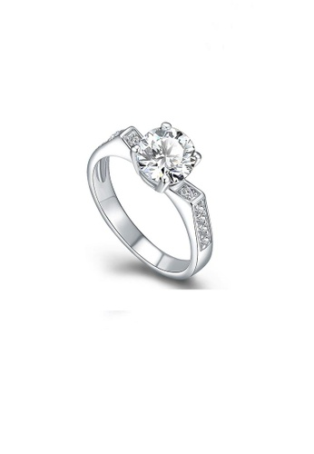 ADORA Silver Zircon Ring 61400AC5B6084BGS_1