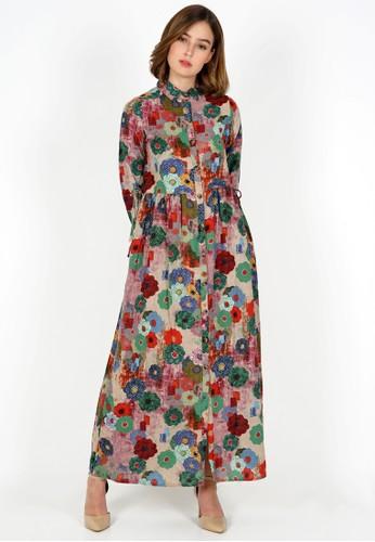novel.mice multi Ethnic Tunic Gardenia Dress 5A0DEAAC33EAE0GS_1