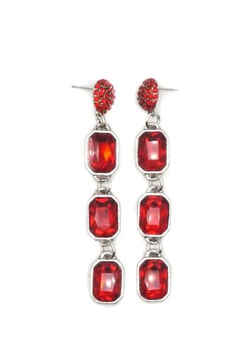 Istana Accessories red Anting Darla Fashion Erring - Merah A26AFAC1A40F66GS_1