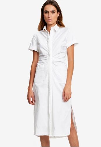 Willa white Jaz Shirt Dress 1A84CAA2668307GS_1