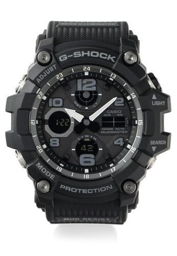 G-Shock black Casio G-SHOCK Jam Tangan Pria - Black - Resin - GSG-100-1ADR   Mudmaster B2C39AC528B3F8GS_1