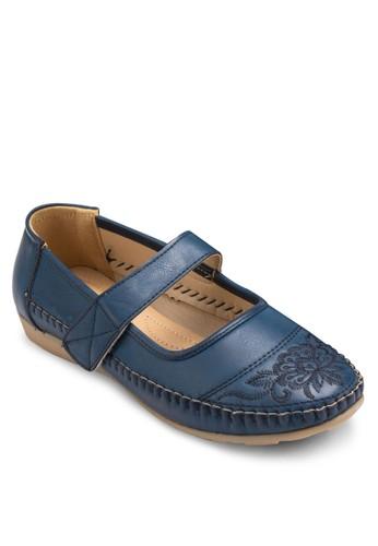 Mary Janes 刺繡鞋esprit 高雄面平底鞋, 女鞋, 鞋