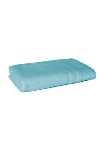 Primeo green Premium Double Pile Aqua Bath Towel 540gsm Soft High Absorbent FA4F8HL9B9BDB5GS_1