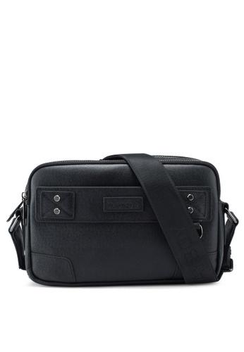 Playboy black Genuine Leather Sling Bag 61DA4ACF7B5281GS_1