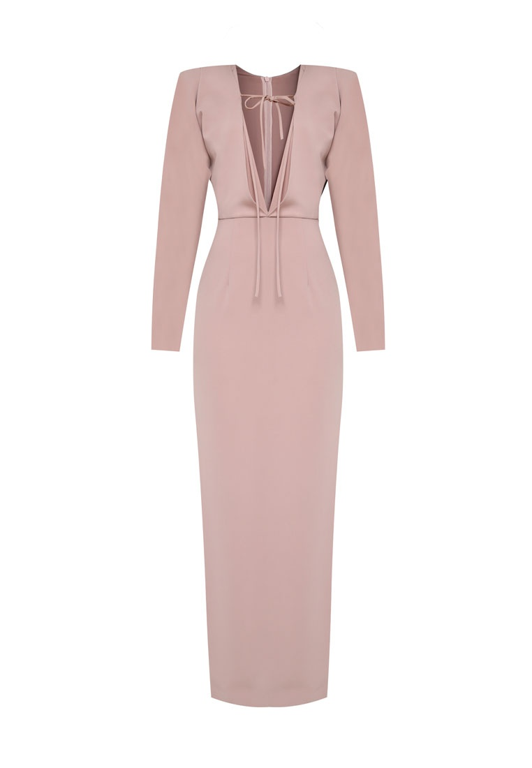 Blush Shoulder 2 Off AfiqM Way Dress xnwXaBzE