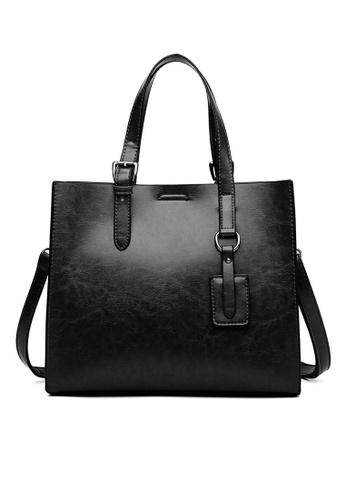 Twenty Eight Shoes Vintage Faux Leather Tote Bag DP910 9C873AC4FC41D4GS_1