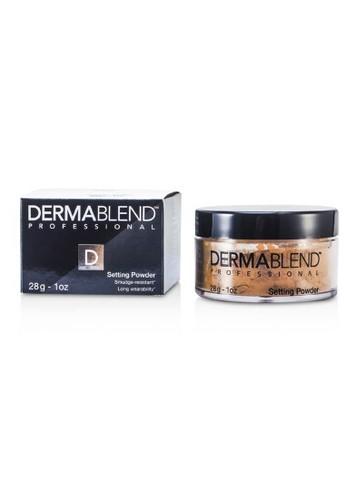 Dermablend DERMABLEND - Loose Setting Powder (Smudge Resistant, Long Wearability) - Warm Saffron 28g/1oz 97F74BEDE1C299GS_1