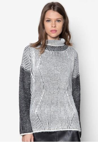 Imogezalora 內衣n 混色針織衫, 服飾, 外套