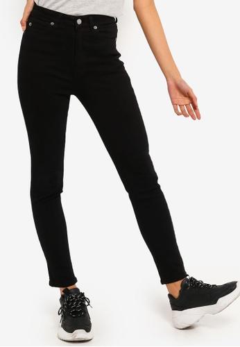 Dr Denim black Cropa Cabana Jeans 2CA19AA026B450GS_1