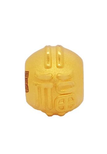 LITZ gold [Free Bracelet] LITZ 999 (24K) Gold Bead Charm EPC0831 DDABAAC09DC8DDGS_1