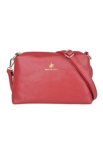 British Polo red British Polo New Women Sling Bag With Compartment 903BDAC3023026GS_1