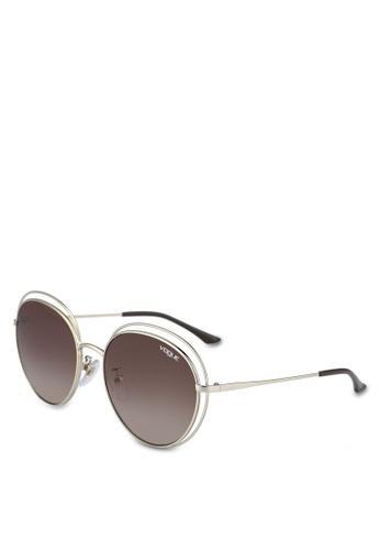 Vogue brown In Vogue VO4064SD Sunglasses CF6E1GLC8DEF3EGS_1