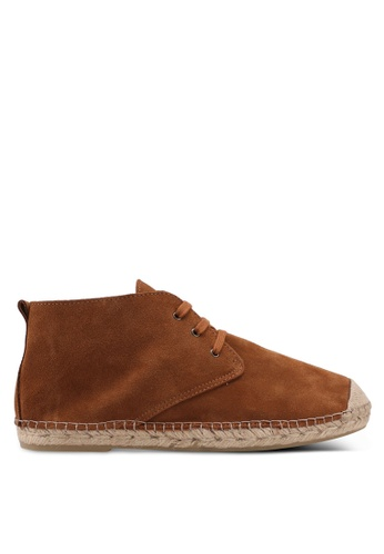 Selected Homme brown Hajo Suede Chukka Boots 3C5CFSH97CC06DGS_1