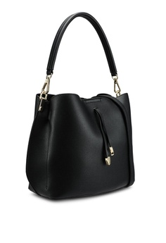 0e5771cc2e3f4e VINCCI Faux Leather Dual Compartment Shoulder Bag RM 159.00. Sizes One Size