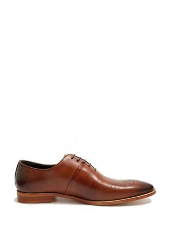 Kings Collection brown Rodrigo Oxford Shoes 9A1A1SH1DD1A7BGS_1
