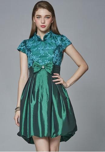 中國風復古娃娃高腰洋裝, 服飾, 派esprit 香港對洋裝