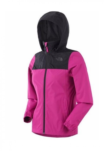 The North Face black and purple The North Face Women New Sangro Plus Jacket TNF Black/Wild Aster Purple 1C230AA1B793A2GS_1