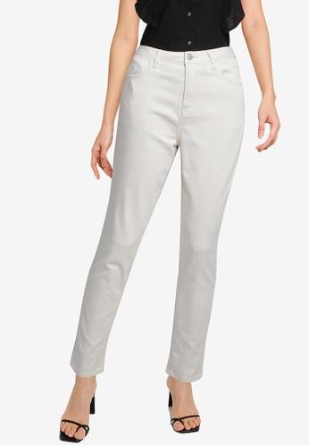 LOWRYS FARM white Skinny Pants 904FBAA80F23A0GS_1