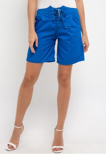 CHANIRA LA PAREZZA blue Chanira La Parezza Demi Short Pant B53A9AA86D1874GS_1