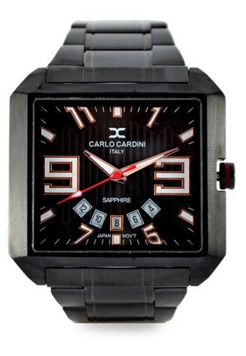 Carlo Cardini black Carlo Cardini  watch 4500G-BLK-4 Black CA038AC18ELHMY_1
