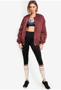 29ef03910fc7d 42% OFF L'urv Making Ripples Bomber Jacket S$ 195.90 NOW S$ 112.70 Sizes XS  S M L