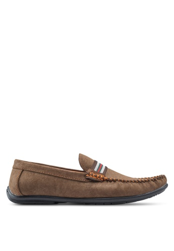 Louis Cuppers brown Casual Moccasins LO977SH68ZKDMY_1