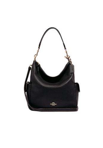 COACH black Coach Pennie 6152 Shoulder Bag In Black E90A7AC96F981FGS_1