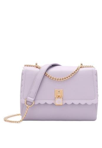 Swiss Polo purple Chain Sling Bag 26475AC2E3B1A5GS_1