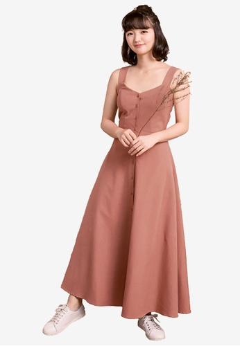 cdca4e9b742 Buttoned Up Maxi Dress
