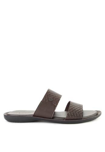 Watchout! Shoes brown Sandals Slip On 33003SH91CA76BGS_1