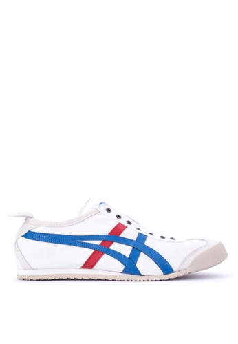 Onitsuka Tiger white Mexico 66 Slip-on Sneakers ON625SH0JS6IPH_1