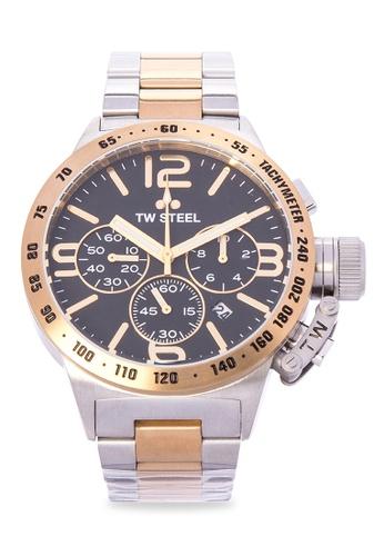 TW Steel silver CB43 Canteen Bracelet Analog Watch TW310AC0KMATPH_1