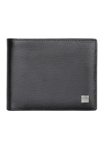 Picard black Picard Classic Men's Leather Bifold Wallet PI517AC0HAA8SG_1
